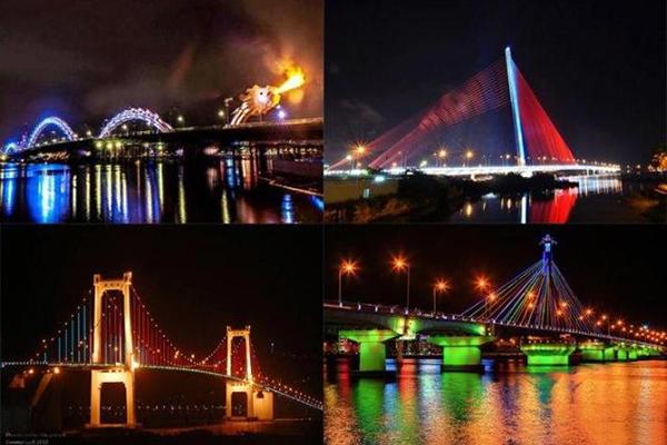 Những cây cầu nổi tiếng tại Đà Nẵng