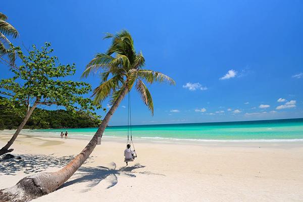 Bãi Sao mang vẻ đẹp tiêu biểu cho một thiên đường biển