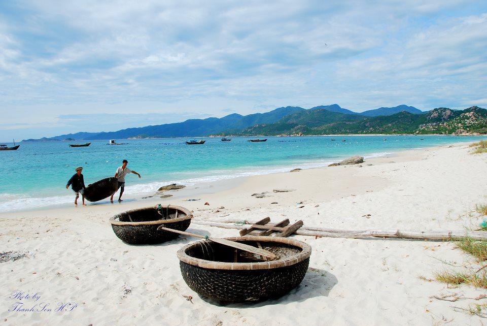 Du lịch đến đảo Bình Ba xinh đẹp
