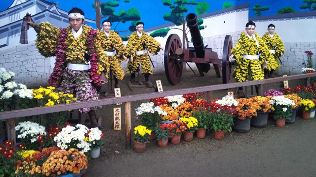 Triển lãm hoa cúc ở Nhật Bản