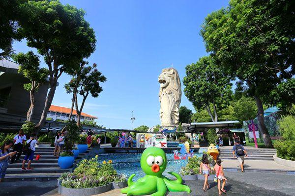 Sentosa của Singapore