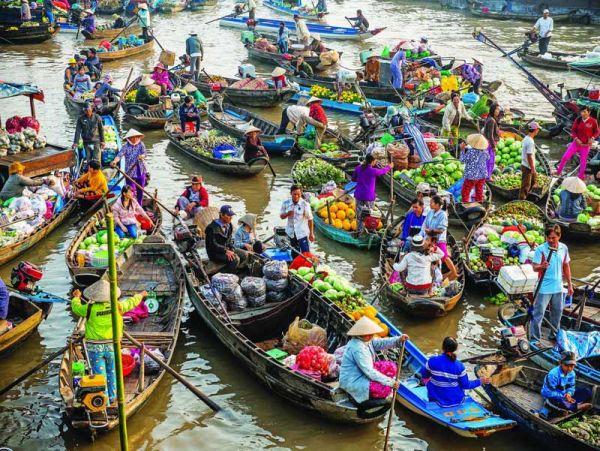 Vé máy bay Hà Nội đi Cần Thơ Vietjet Air chỉ từ 750.000 đồng