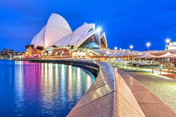 Vé máy bay đi Úc giá rẻ chỉ từ 135 USD/chiều