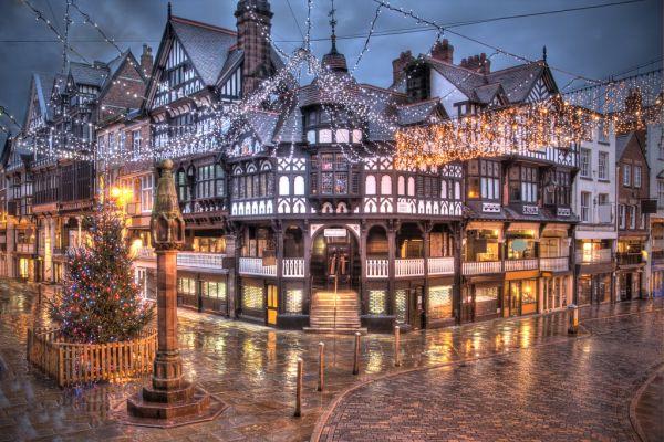 Chester - thành phố đẹp nhất châu Âu