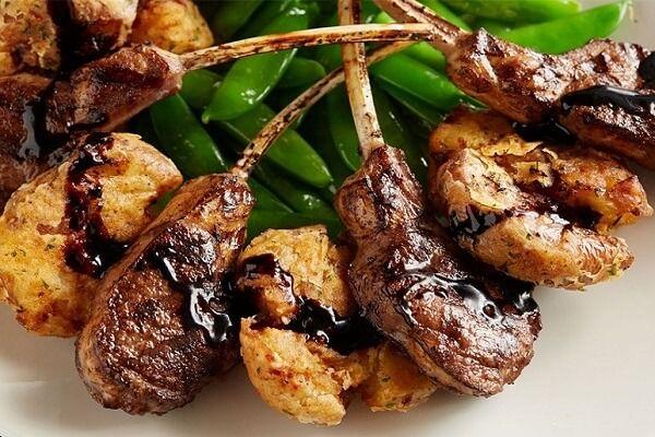 Thịt cừu nướng