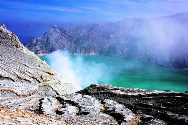 Núi lửa Rinjani, Lombok, Indonesia
